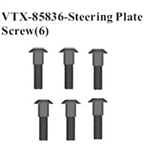 VRX-85836 Steering Plate Screw (6)