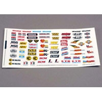 TRX-2514 Decal sheet. racing sponsors