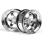 HPI-3592 Workmeister S1 Hjul - 26mm Chrome