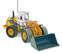 Hobby Engine Wheel Loader - 2.4G