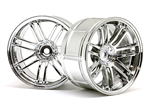 HPI -3341 LP32 Hjulstråler Volk Racing RE30 Chrome