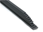 Carbon strip 1x6x1000mm - Bronto