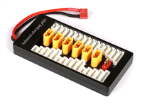 Multi-Charge Board til 1-6 LiPo-batterier - XH XT6