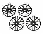 SJM Wheel Disc Concave 16 Sort 4stk