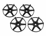 SJM Wheel Disc Concave 6 Sort 4stk