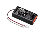 7.2V 3200mAh Li-Ion Senderbatteri for JR 28X/14E
