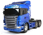 Tamiya Trekkvogn 1/14 Scania R620 Blue - Kit