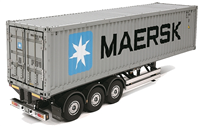 Tamiya Henger 1/14 Container Trailer Maersk - Kit