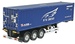 Tamiya Henger 1/14 Container Trailer NYK - Kit