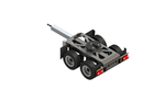 Carson Henger 1/14 2-Axle Dolly Rigid - Kit