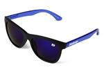Venice Future Sunglasses - Matt Black & Blue