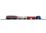 PIKO Train Starter Kit - DB Cargo