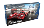 Scalextric Slot racing - Le Mans Sports Car Set