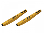 VQ Floats for Twin Otter Yellow 820mm