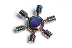 Fidget Spinner - Metalolie 6-arm