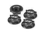 JConcepts FIN. 1/8 Serrated Wheel Nut - Sort