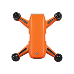 Orange carbon klistermærker til DJI Spark