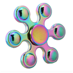 Fidget Spinner - Metal Rainbow Drops