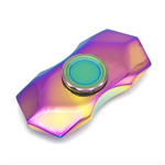 Fidget Spinner - Metal Rainbow Axe