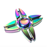 Fidget Spinner - Metal Rainbow Star