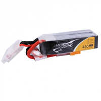 4s   450mAh - 75C - Gens Ace Tattu XT30 Long