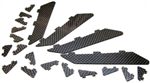 PA Addiction XL Carbon Vortex Generators Set