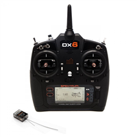 Spektrum DX6 Gen3 2.4 GHz med AR6600T