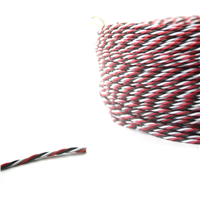 Fuse Twisted strømkabel 2 meter - 22AWG