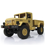 WPL Military Truck - Off-Road RTR - 1:16 Gul