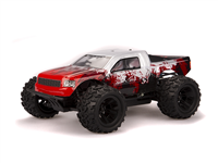 HSP Monster 1:18 Brushed Red - Komplet
