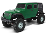 HSP Jeep Trail Rider Green - Komplet