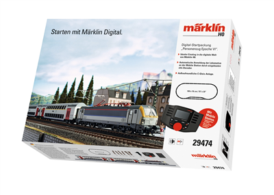 Märklin Digital Startset Epoch VI Passagertog