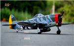 VQ P-47D Thunderbolt Camo version 1.5m GP / EP