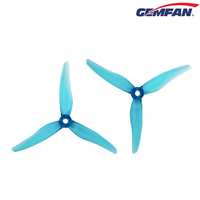Gemfan Hurricane 3 Blade 51466 Clear Blue