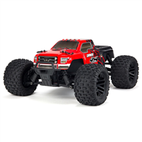 ARRMA Granite Mega 4WD Red/Black - Komplet