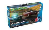 Scalextric Car Path - American Police Chase