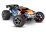 Traxxas E-Revo 1/16 4WD børstet RTR - orange