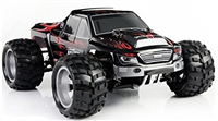WLToys Monster A979 Red 1/18 4WD - Komplet