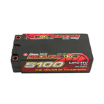 2s  5100mAh - 130C - Gens Ace Redline HV Shorty