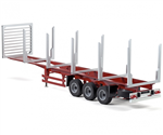 Carson Hanger 1/14 Axas Stanchion Trailer - Kit