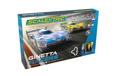 Scalextric Racerbane - Ginetta Racers Set