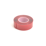 Core-RC Dobbeltsidet tape klar / gummi 25mm / 3m