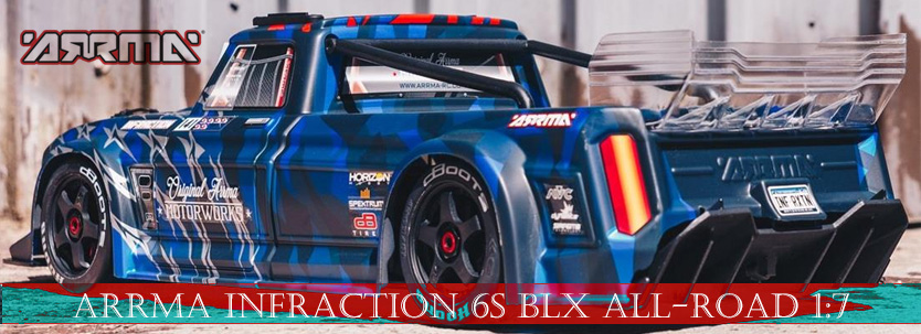 ARRMA Infraction 6S BLX All-Road